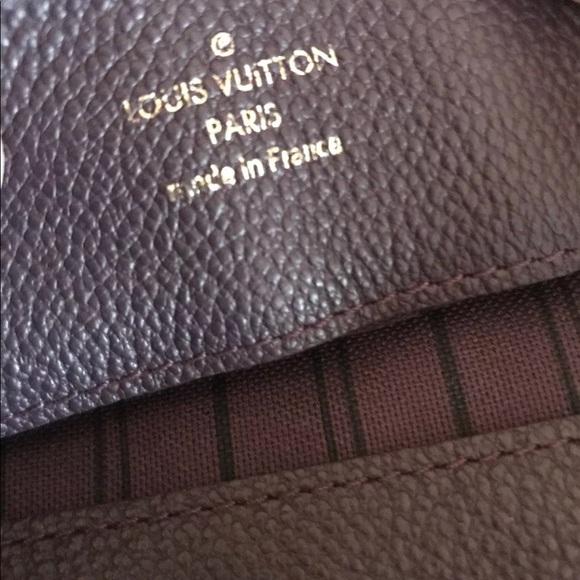 Louis Vuitton Handbags - Empreinte Suede Audacieuse MM Aube